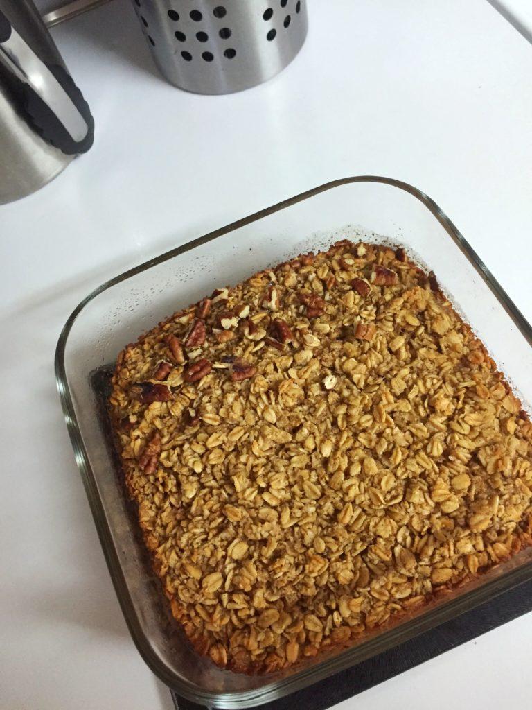 Baked Oatmeal | Sam's Dish