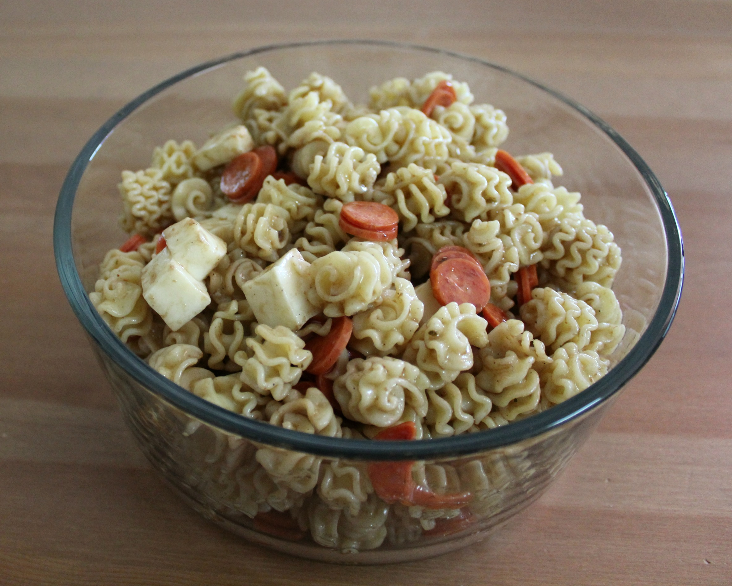 Simple Pasta Salad with Sweet Italian Dressing