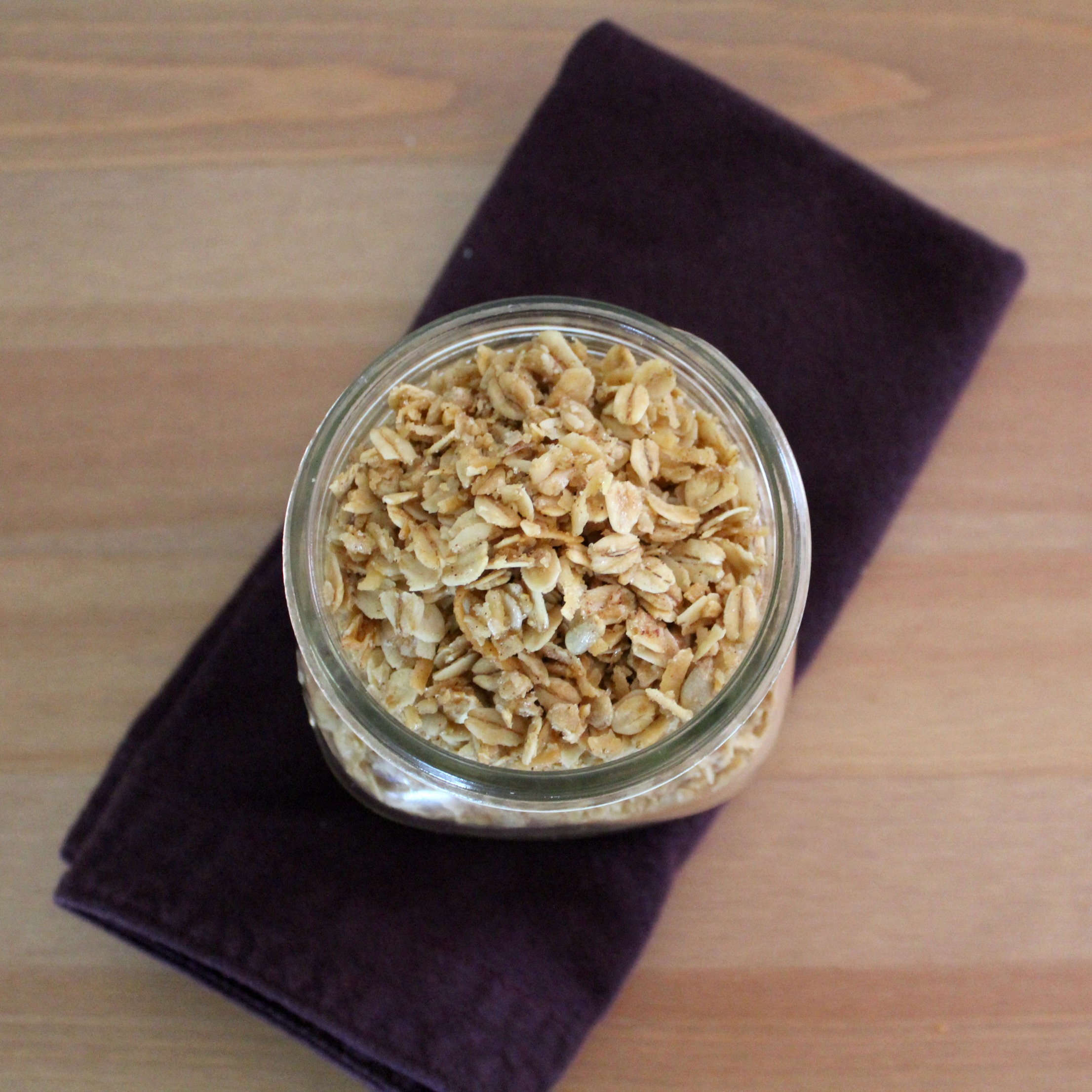 Honey Oat Granola