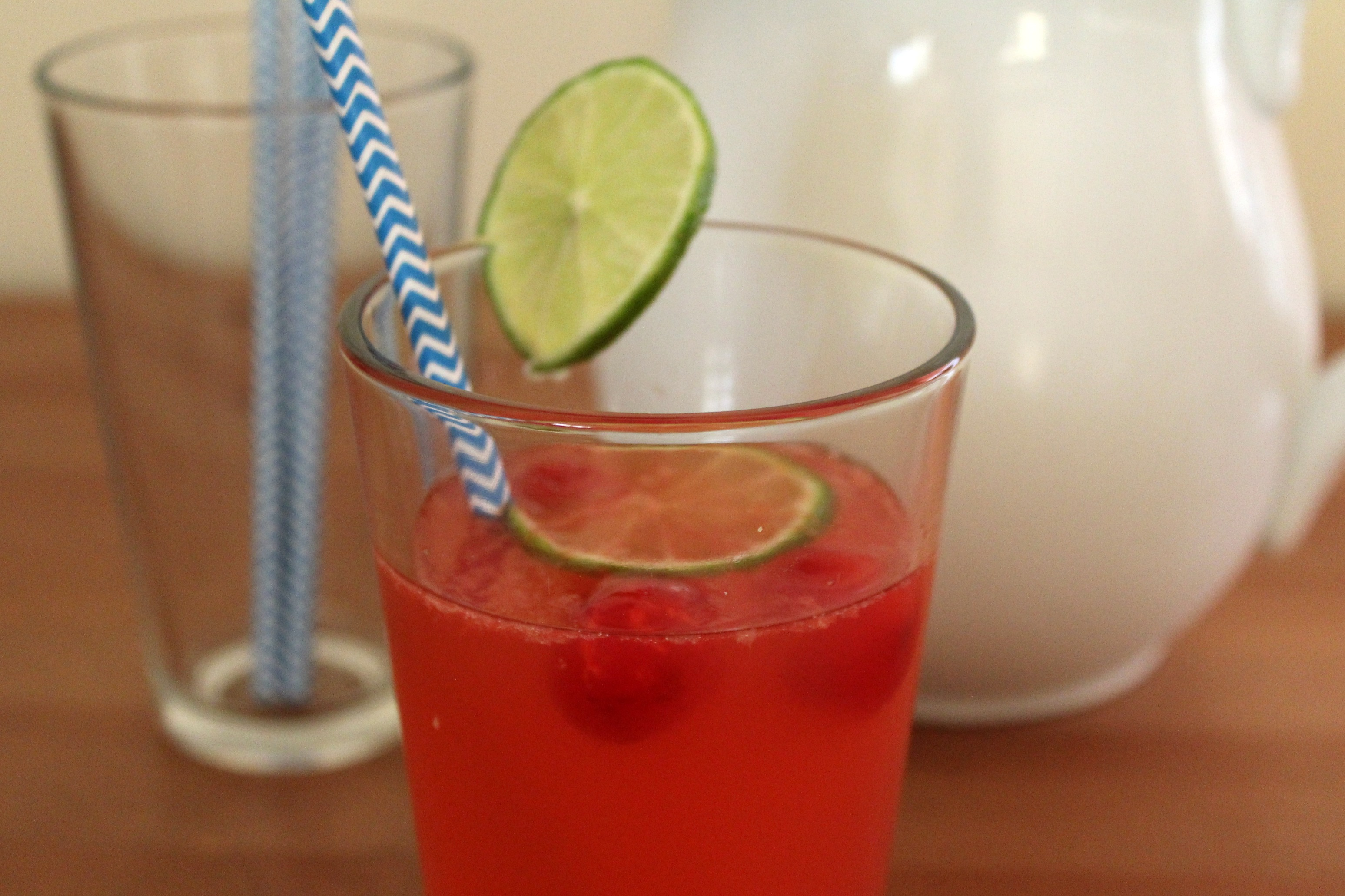Cherry Limeade Punch