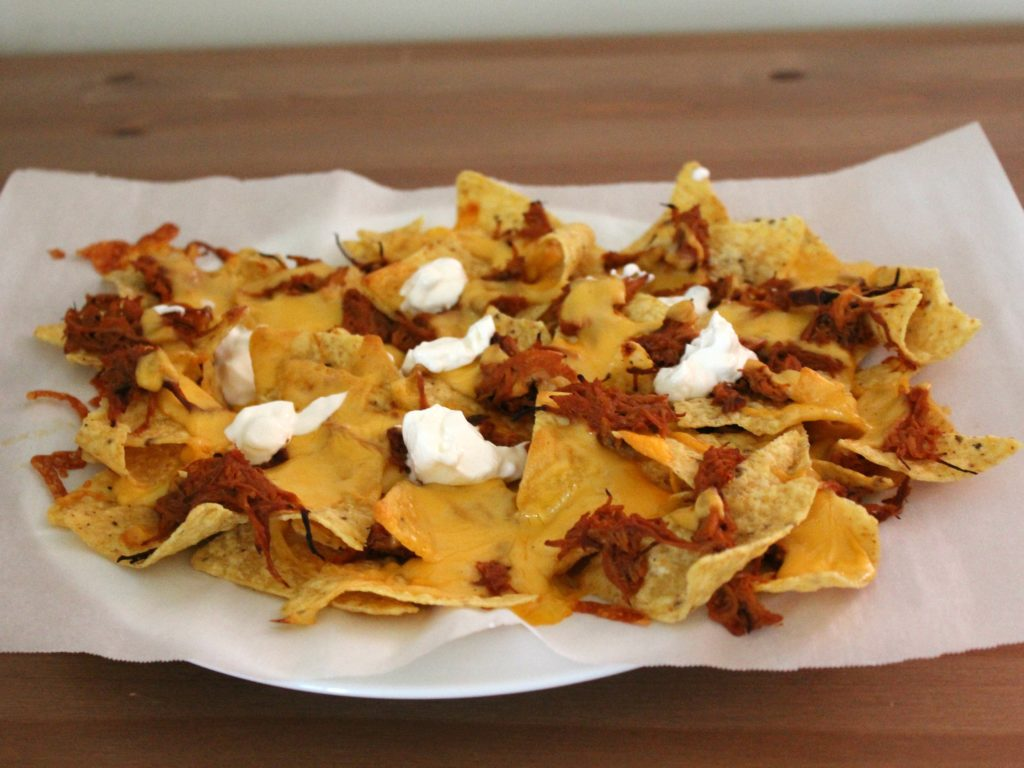 BBQ Chicken Nachos | Sam's Dish