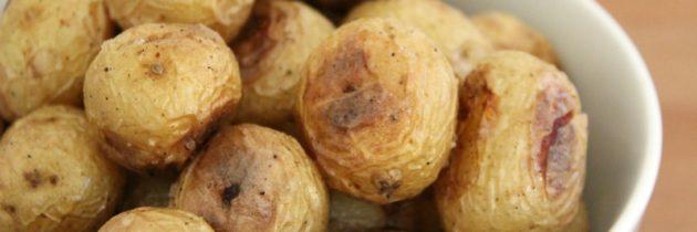 Salt Crusted Baby Potatoes