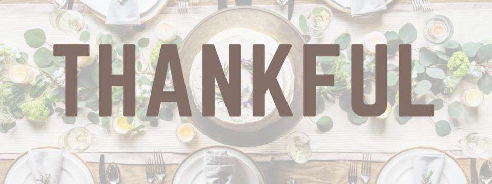 Thanksgiving Favorites – 2017