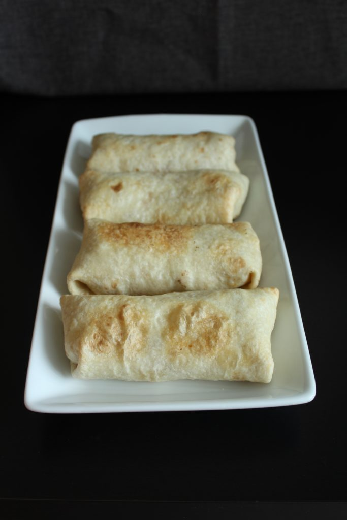 Baked Chicken Chimichangas [with Instant Pot Salsa Chicken]